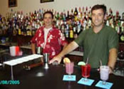 Learn behind an actual bar at the Capitol Bartending School in Harrisburg, Pennsylvania!