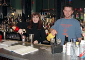 Learn behind an actual bar at the Professional Bartending School of Knoxville, Tennessee!