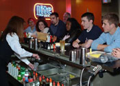 Learn behind an actual bar at our Cherry Hill, New Jersey bartending school!