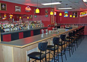 Learn bartending behind an actual bar at the Professional Bartending School in Worcester, Massachusetts!